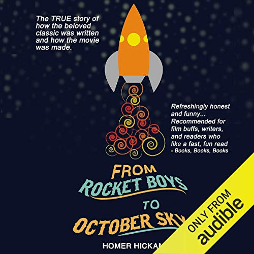 From Rocket Boys to October Sky audiobook cover art