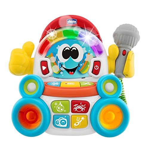 Chicco Karaoke Set Songy The Singer, weiß (Artsana Spain 00009492000040)