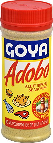 Goya Adobo All Purpose Seasoning With Pepper, 16.5 Ounce