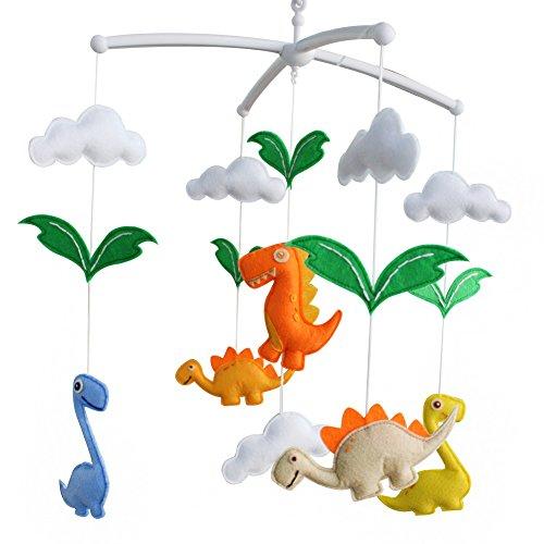Décoration de pépinière de cadeau de jouet mobile de lit de bébé fait main pour 0-2 ans, MQ32