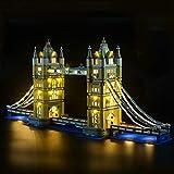LIGHTAILING Conjunto de Luces (Creator El Puente De Londres) Modelo de Construcción de Bloques - Luz no Parpadea - Kit de luz LED Compatible con Lego 10214 (NO Incluido en el Modelo)