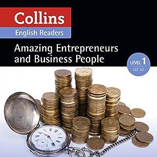 Couverture de Amazing Entrepreneurs & Business People: A2 (Collins Amazing People ELT Readers)