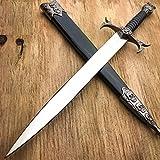 New DEMON SKULL BONES MEDIEVAL TRIBAL FANTASY DAGGER historical Short Sword Knight- Great For Fun And Practical Use