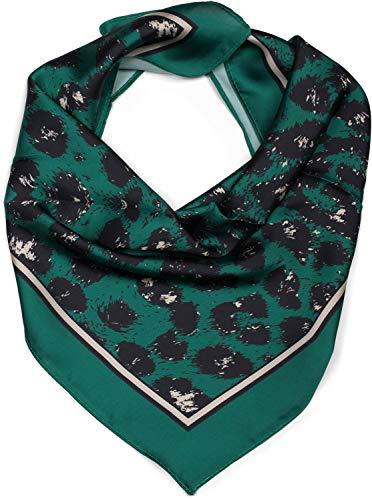 styleBREAKER Damesdriehoeksjaal met Leopard Animal Pattern Print, Multifunctionele sjaal, Bandana 01016175