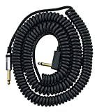 VOX VCC090 Black Coiled 1/4' Cable with Mesh Bag, 29.5'