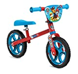 Smoby 770203 First Bike Laufrad, stabiles Metallrad im Paw Patrol Design für Kinder ab 2 Jahren,...