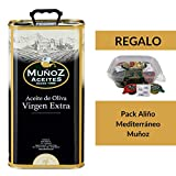 Lata metálica 5 L | Aceite de Oliva Virgen Extra | Muñoz �