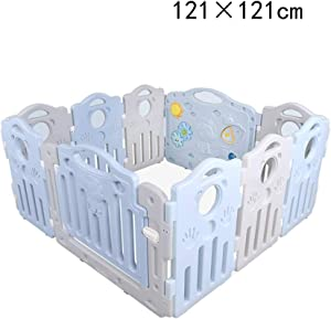 RUNWEI Game Fence  Children s Play Fence Baby Crawling Toddler Fence Family Indoor Playground  Multi-size  Size