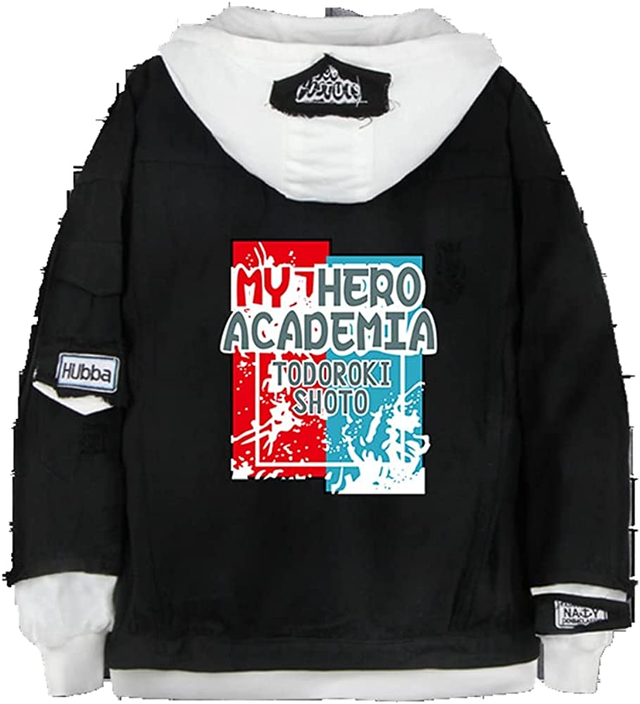zhacaoji 3D Printing Hoodies Denim Sweatshirt