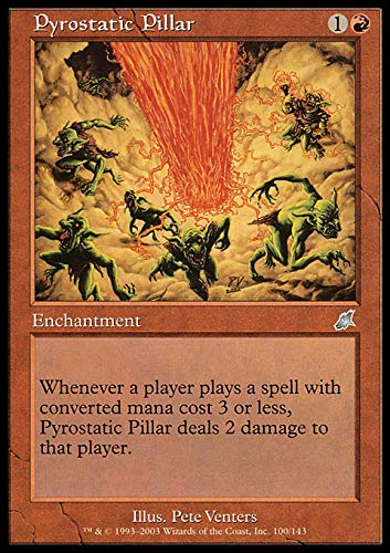 Magic: the Gathering - Pyrostatic Pillar - Scourge