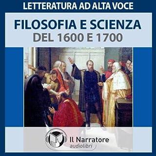 Filosofia e Scienza del 1600 e 1700 copertina