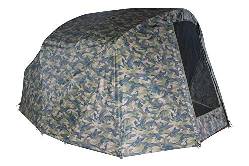 MK-Angelsport Winter Skin Camou for Fort Knox 2.0 Dome 2 Man (No Tent Only Throw) Carp Dome Overwrap Bivvy / Fishing Tent