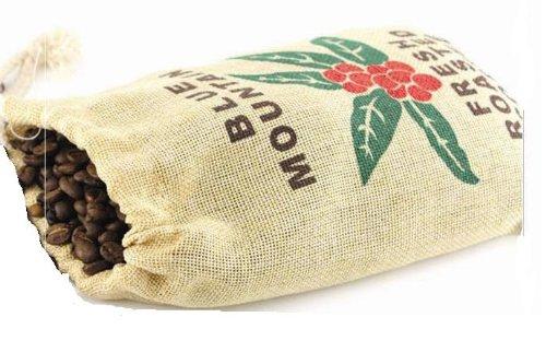 Kaffeesack - Kaffeesäckchen Jamaika Blue Mountain für ca. 250 g Kaffee