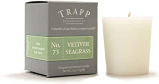 Trapp Signature Home Collection No. 73 Vetiver Seagrass 2 Ounce Votive - 4 Pack