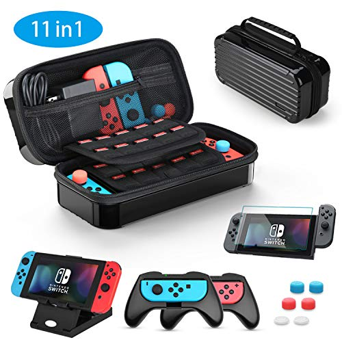 Funda para Nintendo Switch, HEYSTOP 11 en 1 Nintendo Switch