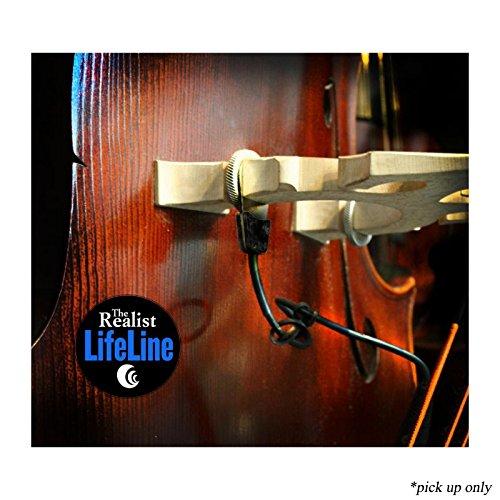 The Realist Lifeline   Self Powered Transparent Piezo Transducer Bass Pickup