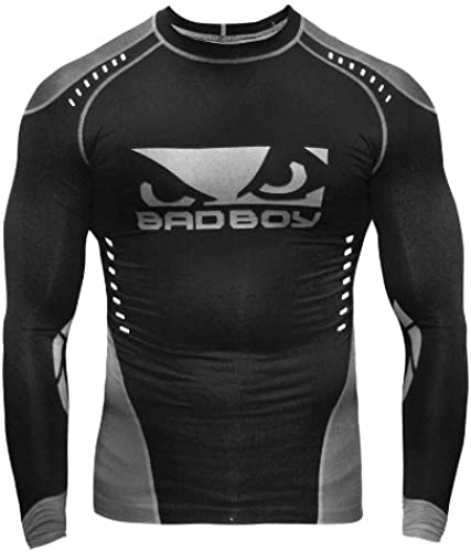 Bad Boy Sphere Compression T-Shirt - manche longues