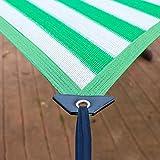 WXQIANG Ombre rectangulaire Voile avec Œillets, Sun Canopy Netting for extérieur/Auvent/Fenêtre Couverture, Anti-UV et résistance à l'usure Protection Solaire, Isolation Thermique