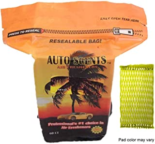 Bahama Breeze Professional Air Freshener Pads - Remove The Worst Smells with These Heavy Duty Pads (60 Pads Per Pack) (Bahama Breeze Scent)