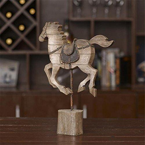 Langdurige Amerikaanse landelijke stijl huis houten ornamenten thuis zachte decoratieve hars ambachtelijke display model kamer raamdecoratie creatieve geschenken