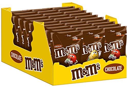 M&M'S | Choco | Schokolinsen | 30 Packungen (30 x 150 g)