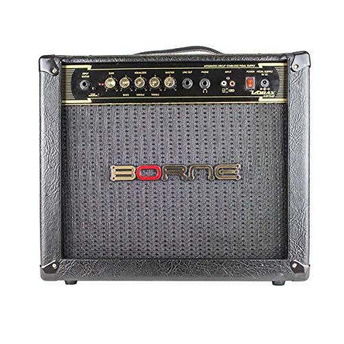 Amplificador Para Guitarra 10 Pol 50Wrms Vorax 1050 Preto Borne