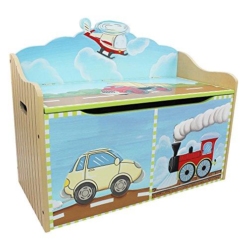 Fantasy Fields Children Transportation Kids Holz-SpielzeugkisteStorage W-9940A - 2