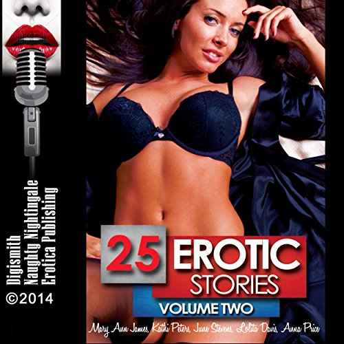 25 Erotic Stories: Volume Two audiobook cover art