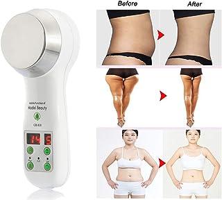 QIYE Masajeador Cuerpo Masaje Anticelulitico Adelgazar Brazo Pierna,Ultrasonic Body Slimming Massager Cellulite Removal Fat Remover Machine Cavitation EMS Weight Loss Device