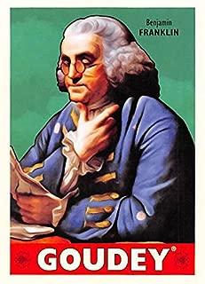 Benjamin Franklin trading card (Inventor, Statesman) 2016 Upper Deck Goudey #37