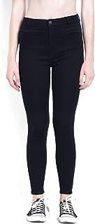 KOTTY Women's Skinny Fit Jeans