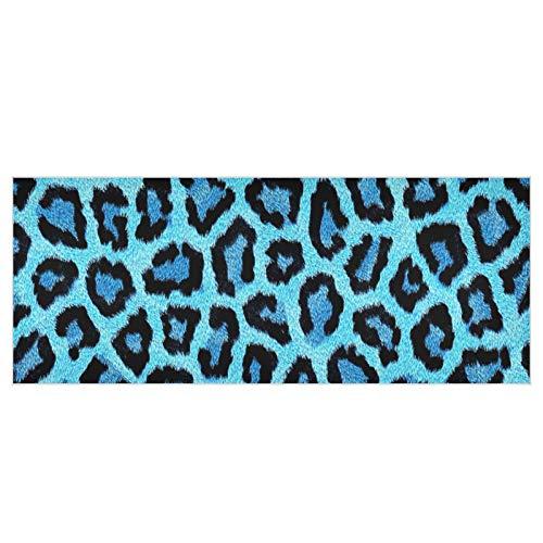 Papier Textur Leopard Animal Scrapbooking Quadrat Winter Schals und Wraps 70,9x27,6 Zoll Polyester Frauen Umhänge und Schals Weiche Bequeme Frauen Schals Geeignet für Partys Arbeitsreisen
