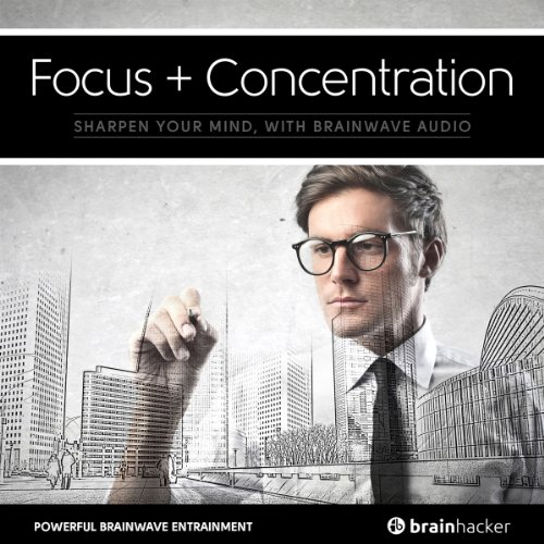 Focus + Concentration Session audiobook cover art
