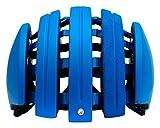 Carrera - Casco da Bicicletta, Blu (Blu Mat), M/L