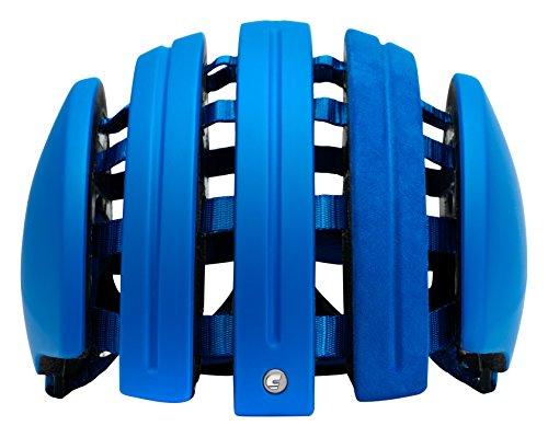 Carrera Suede Fahrradhelm, Blau (Bleu Mat), S/M (55-58)