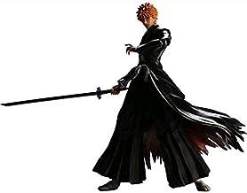 Ichigo Kurosaki Figura de acción Personaje cómico Modelo de personaje Material gráfico de PVC Estatua Fans de anime y decoraciones favoritas Decoraciones de Otaku Juguetes para adultos Año nuevo C