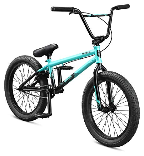 Mongoose Legion L60 Freestyle BMX Bike Line for Beginner-Level to Advanced Riders, Steel Frame, 20-Inch Wheels, Teal