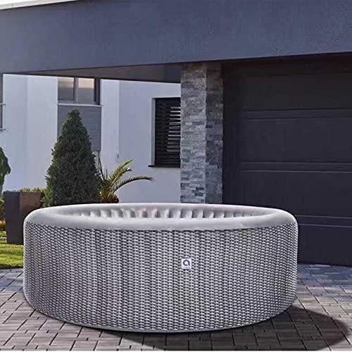 CJHOME SPA Simple, bañera de hidromasaje Masaje de Burbujas de 800 litros, 175 x 70 cm con Accesorios de calefacción de relajación