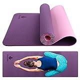 Yoga Mat – TPE Eco friendly Non Slip Yoga Mat for Exercise, Gym