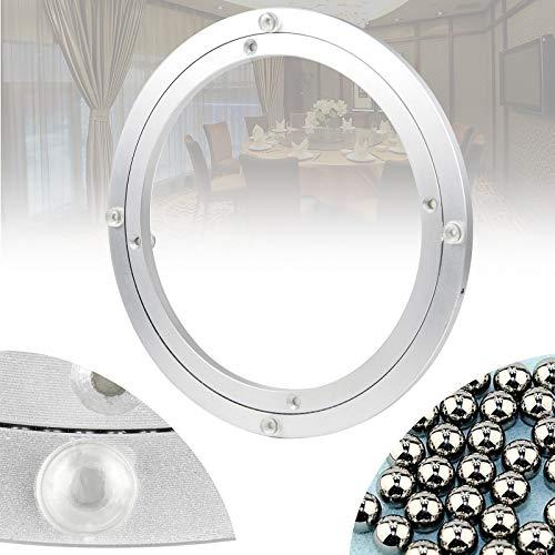 DBREAKS Drehscheibe Drehkranz für TV Tischplatte Drehteller Kugellager Lazy Susan für Esstisch Monitor (Ø350x15mm)/12 inch aus Aluminiumleigierung