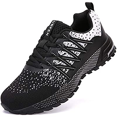UBFEN Running Shoes for Mens Womens Sports Fashion Sneakers Indoor Outdoor Walking Fitness Jogging Athletic Road Casual Footwear