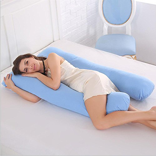 Sleeping Support Pillow For Mujeres Embarazadas Body 100% Cotton Funda de Almohada...