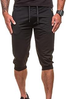 229460848d Men Pants Daoroka Casual Comfy Elastic Waist Pocket Drawstrintg 2018  Fashion Short Jogger Dance Sport Sweatpants Trousers