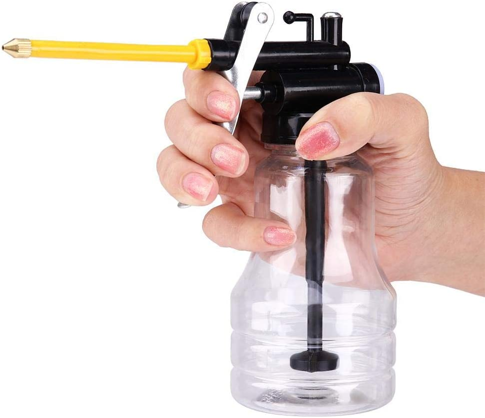 250ML Oil Can Popular product Transparent Challenge the lowest price High Ca Oiler Pressure Lubrication