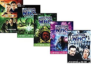 Doctor Who - Complete Collection DVD - The Waters of Mars/ The Power of Kroll/ Warriors of the Deep/ The Sea Devils/ Castrovalva