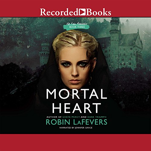 Mortal Heart audiobook cover art