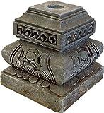 GURU SHOP Schrimständer, Ständer für Zeremonienschirm, Grau, 24x20x20 cm, Sonnen- & Regenschirme