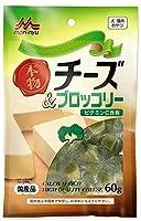 (まとめ買い)森乳サンワールド ワンラック 本物チーズ&ブロッコリー 60g 【×8】