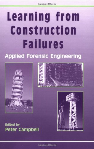 Learning from Construction Failures: Applied Forensic Engineering