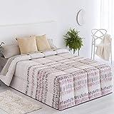 Confecciones Paula - Edredón conforter Arona - Cama 90 Cm - Color Lila